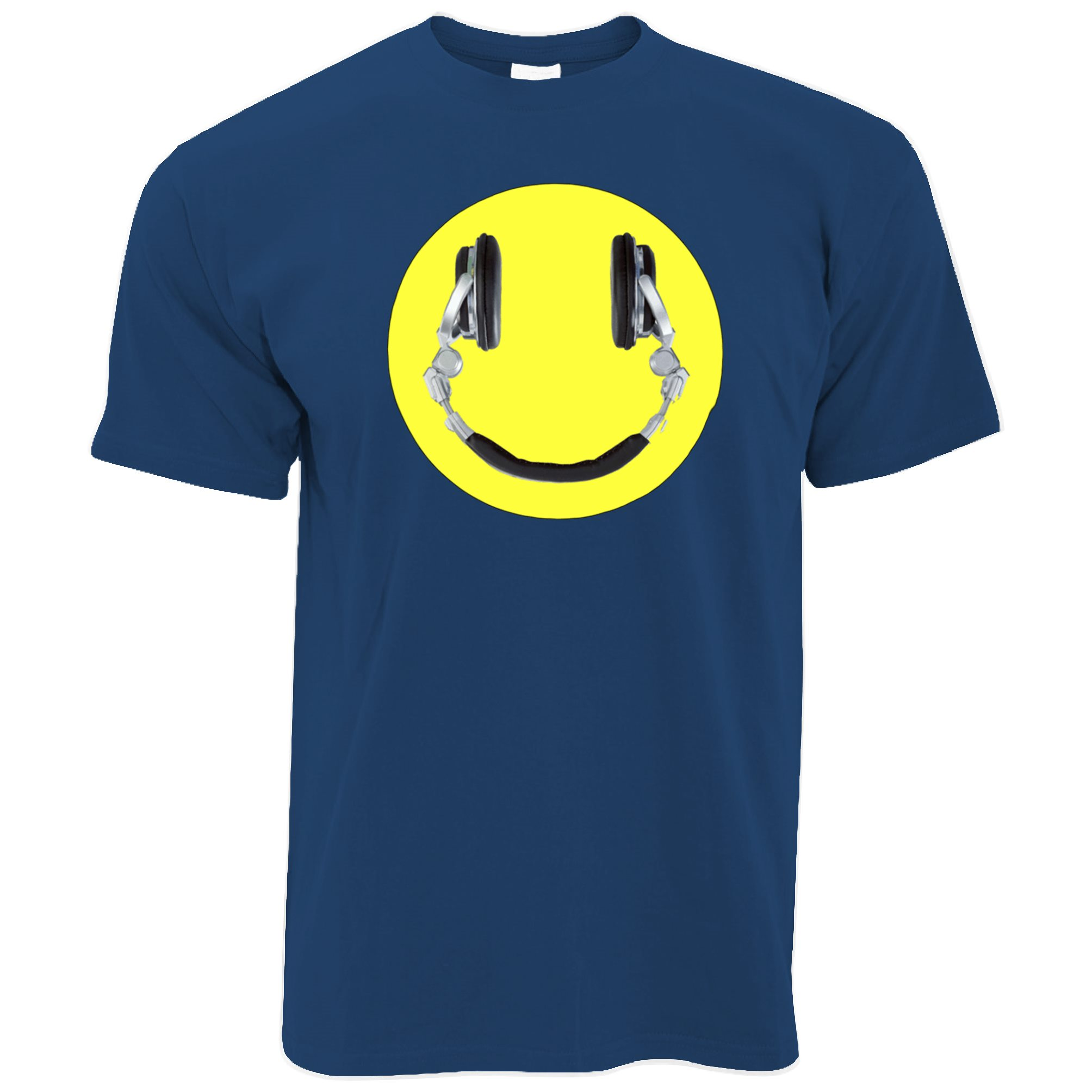 Acid Dripping Smiley Face Tie Dye House Rave Music Men Women Unisex T-shirt 909