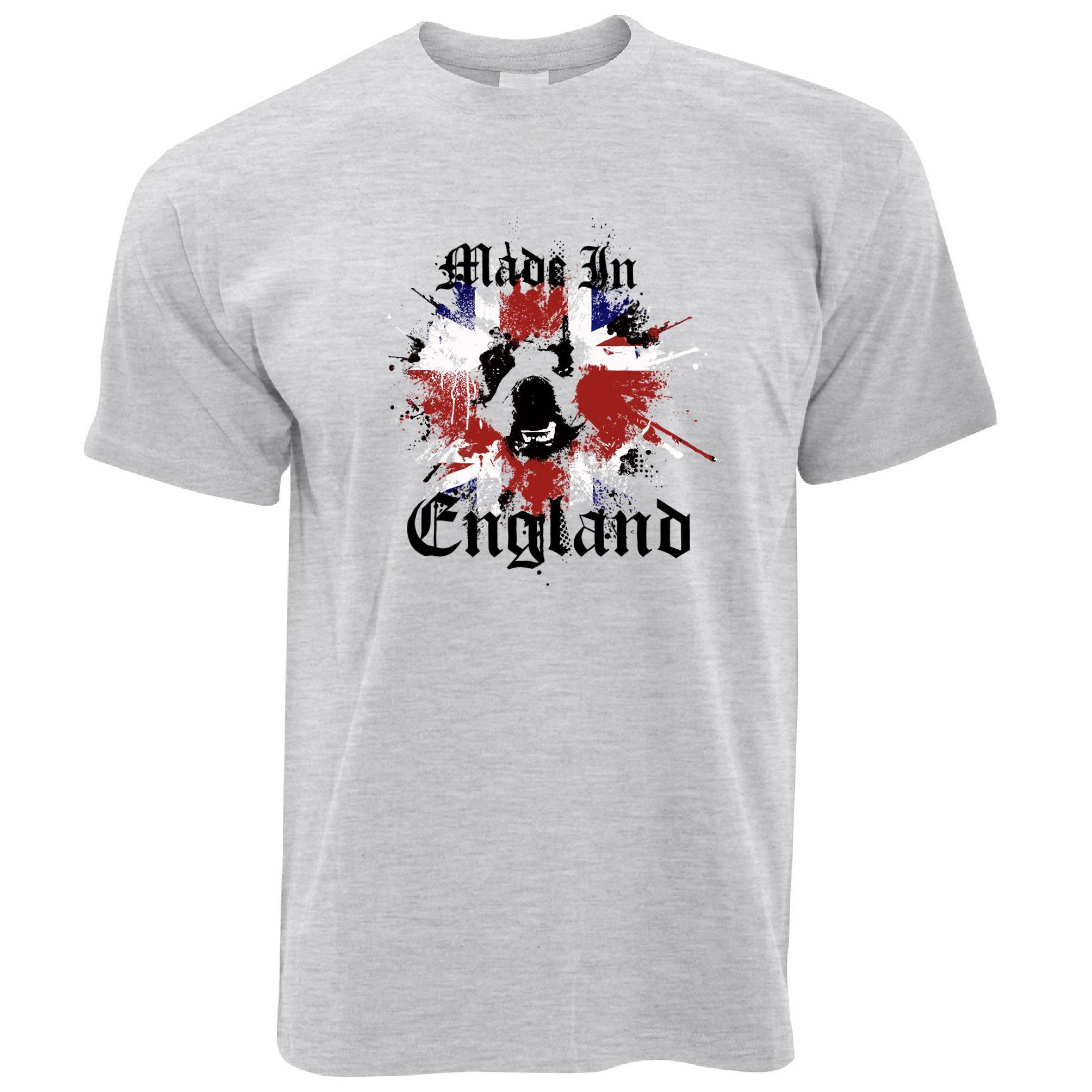 Made In England Patriotic Sweatshirt Bulldog English Proud To Be T-Shirt