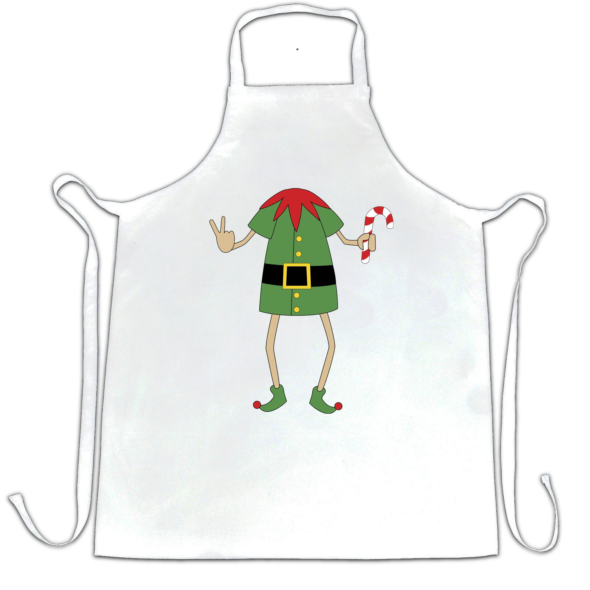 Funny Christmas Chefs Apron Rude Xmas Elf Swearing Shirtbox