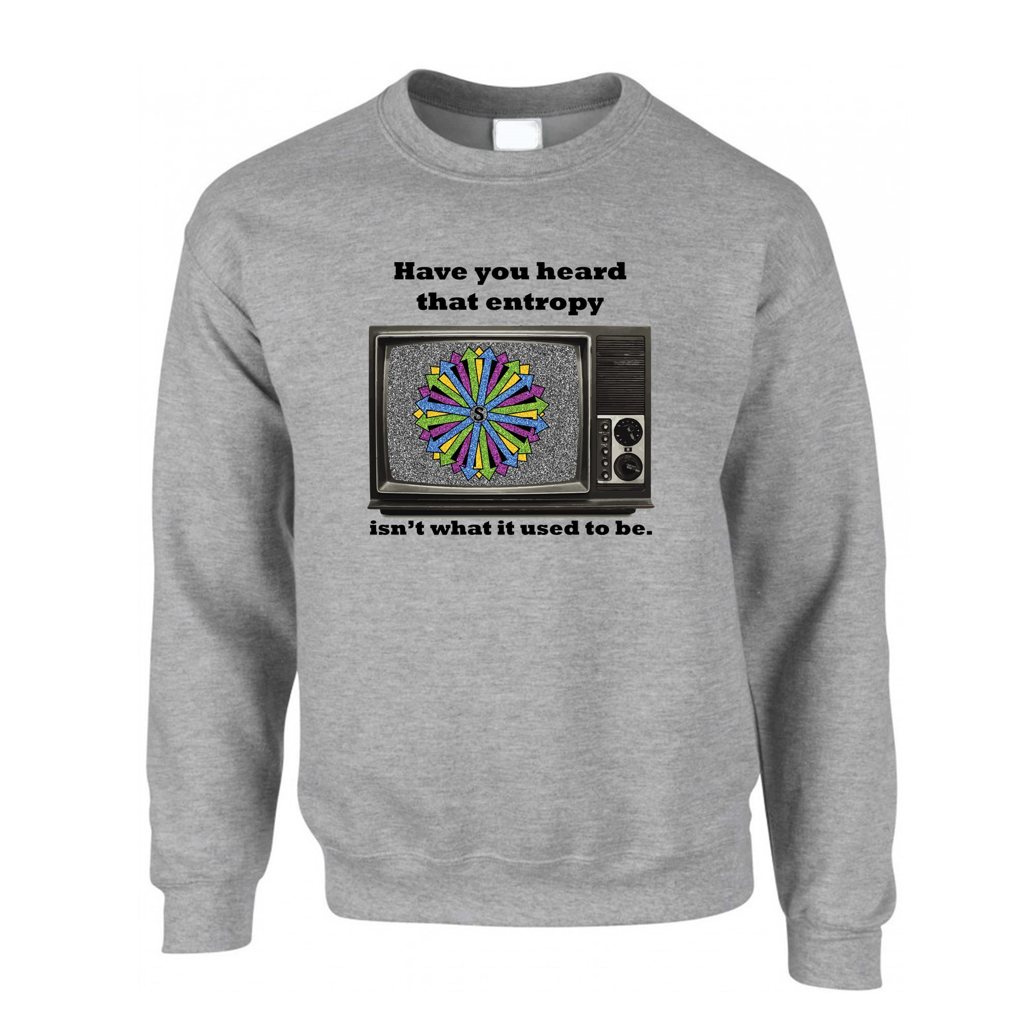 W Anchor Hoody Hoodie Black Funny Rude Slogan Geek Nerd Joke Gift