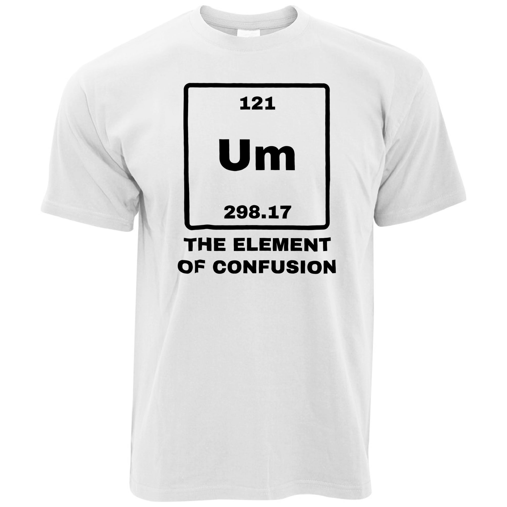 Novelty Science Mug Um The Element Of Confusion Periodic Table Nerd