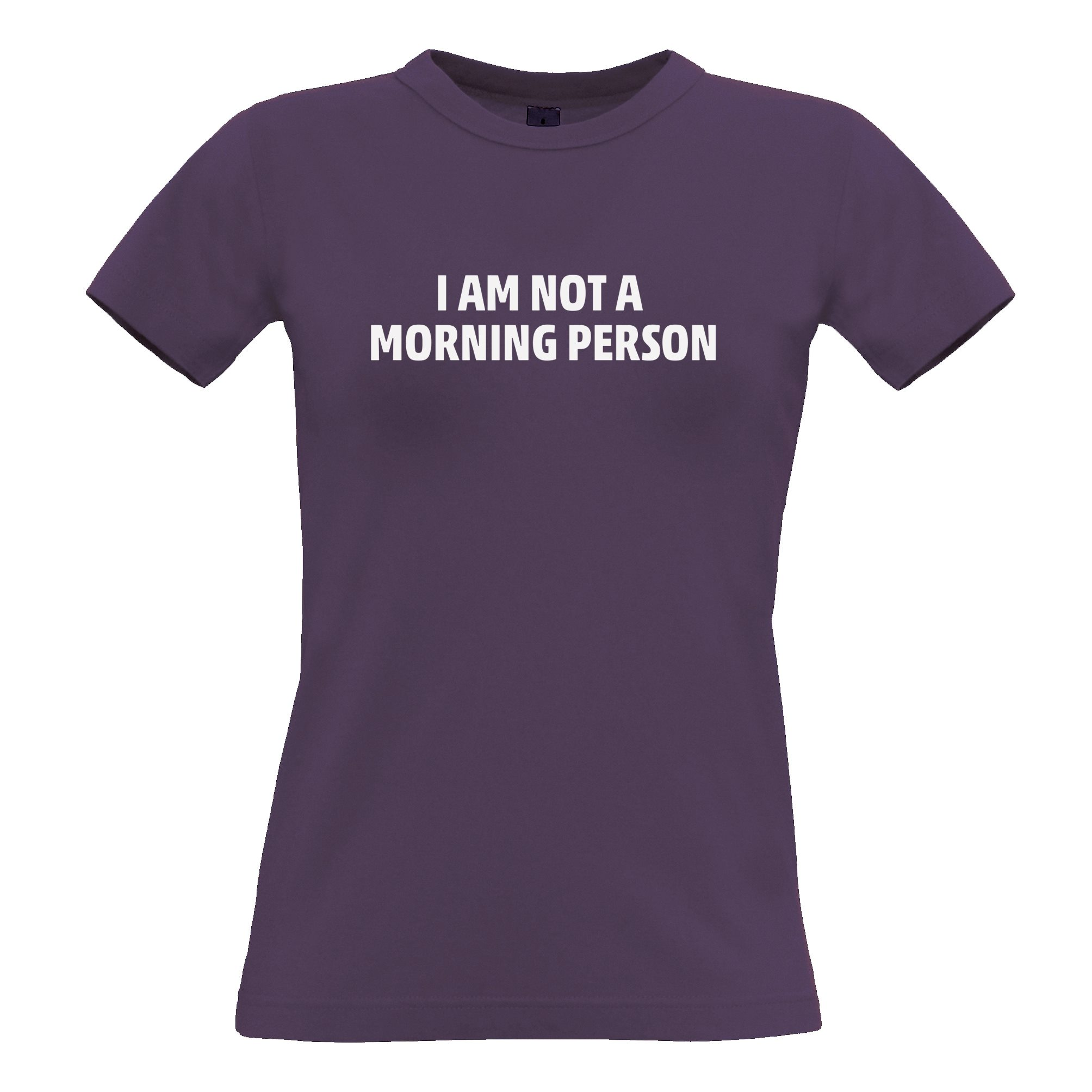I Am Not A Morning Person Kids T-Shirt lazy love my bed Teenager
