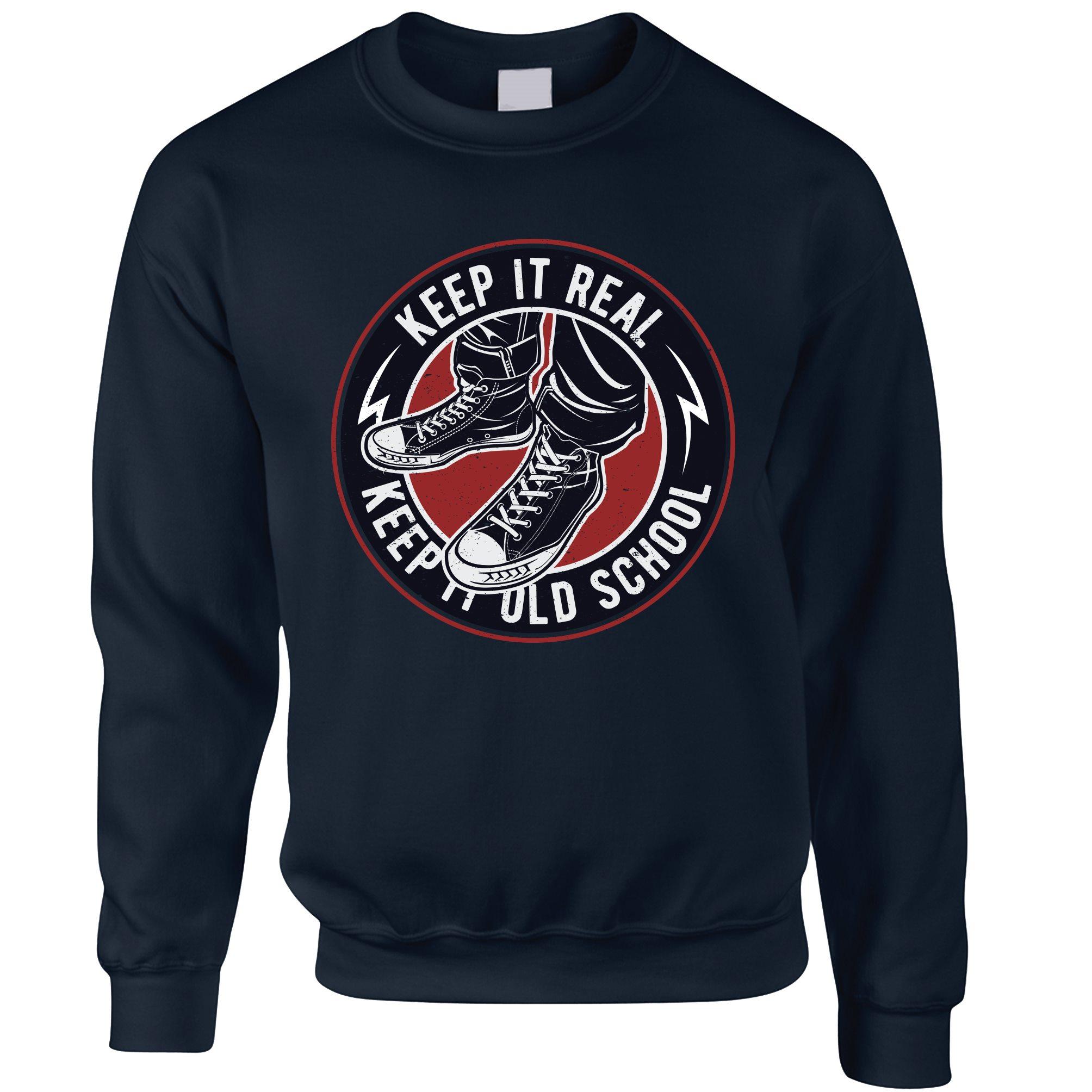 Illmatic Herren Sweatshirt Pullover Sweater Smalls Crewneck