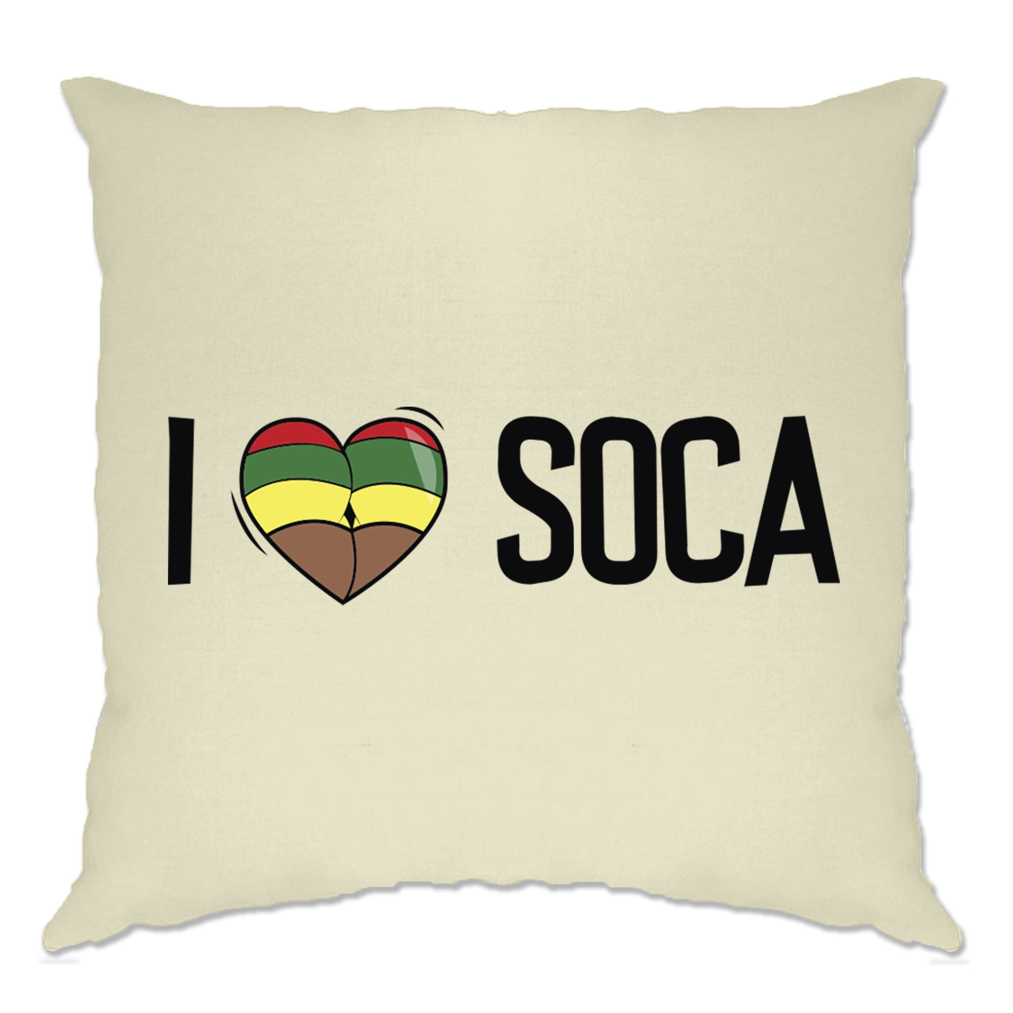 Music Cushion Cover I Love Soca Reggae Jamaica Dub Carnival Festival Carribean Ebay