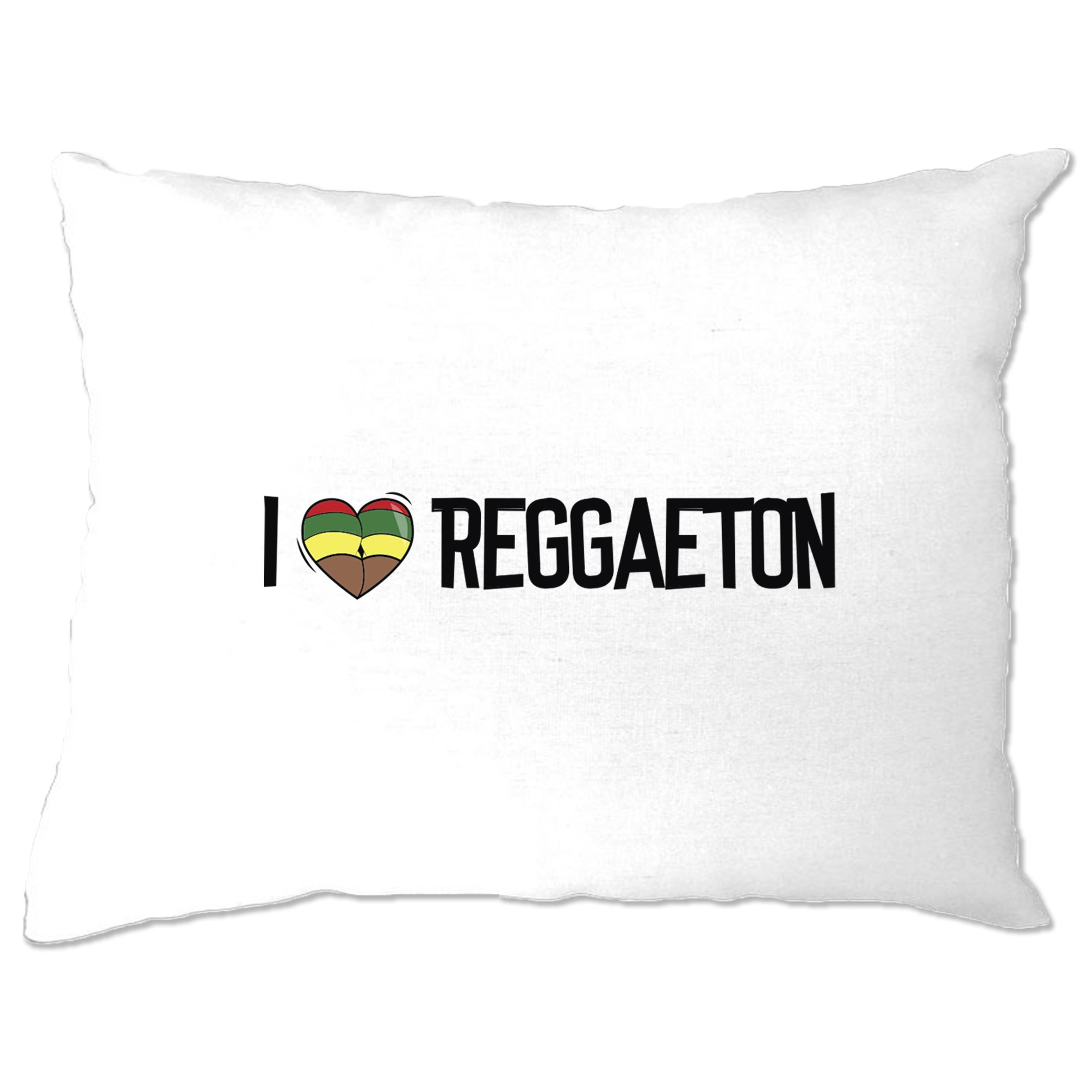 Music Pillow Case I Love Reggaeton Reggae Jamaica Dub Soca Carnival Carribean Ebay