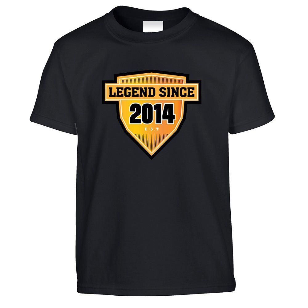 13th Birthday Kids T Shirt Legend Since 2007 Est Logo Sports Emblem Badge
