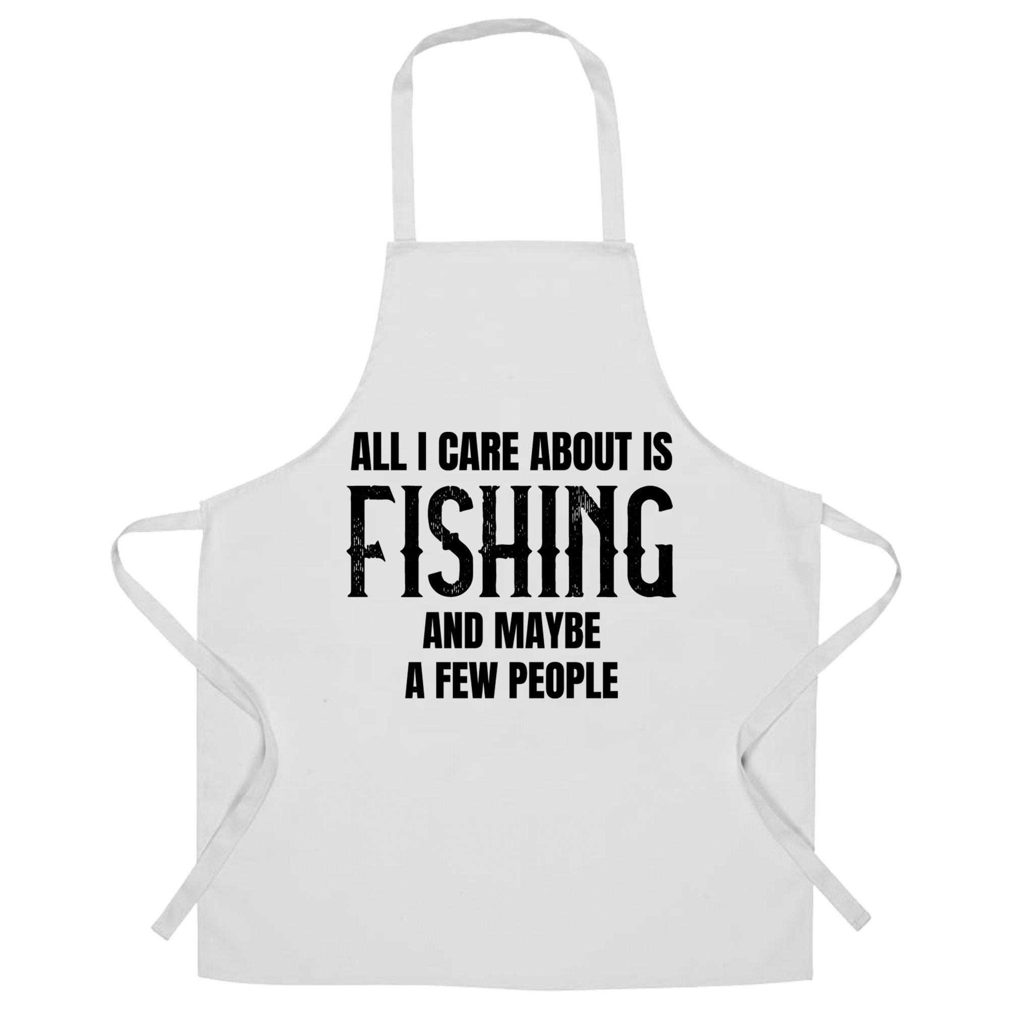 I Hold My Rod Fishing BBQ Cooking Funny Novelty Apron